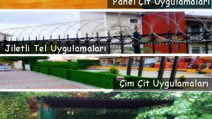 Maltepe Bahçe Panel Çit Tel Örgü Çeşitleri