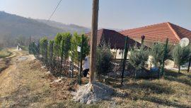 Panel çit ve uygulaması
